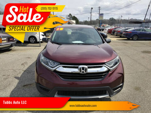 2018 Honda CR-V for sale at Tubbs Auto LLC in Tuscaloosa AL