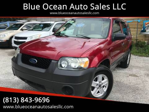 2007 Ford Escape for sale at Blue Ocean Auto Sales LLC in Tampa FL