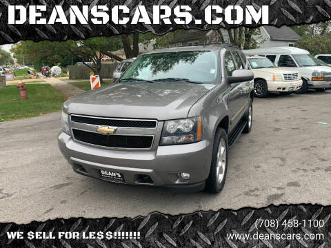 2009 Chevrolet Tahoe for sale at DEANSCARS.COM in Bridgeview IL