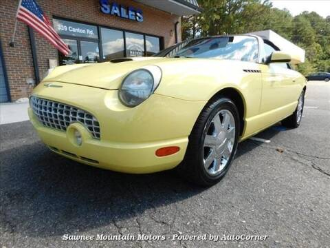 2002 Ford Thunderbird for sale at Michael D Stout in Cumming GA