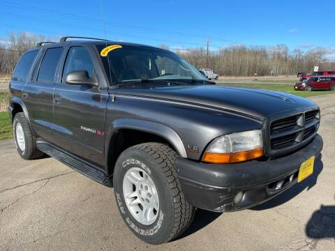 2001 Dodge Durango for sale at Sunshine Auto Sales in Menasha WI