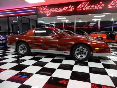 1986 Chevrolet Camaro for sale at Wagner's Classic Cars in Bonner Springs KS