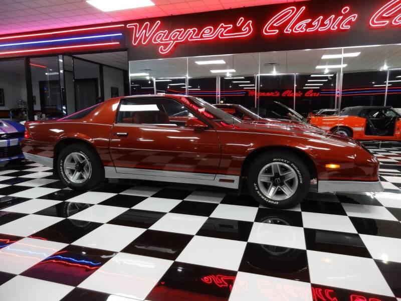1986 Chevrolet Camaro for sale at Wagner's Classic Cars in Bonner Springs KS