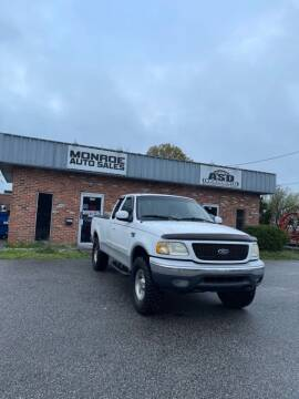 2001 Ford F-150 for sale at Monroe Auto Sales Inc in Wilmington NC