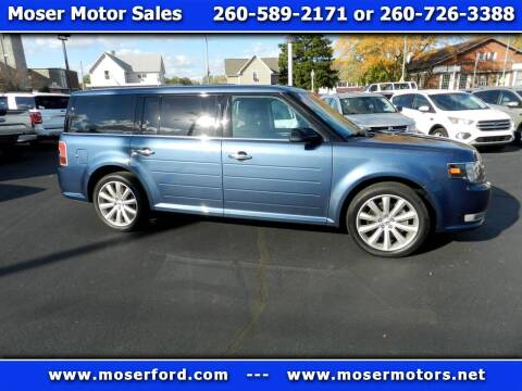 2018 Ford Flex for sale at Moser Motors Of Portland in Portland IN