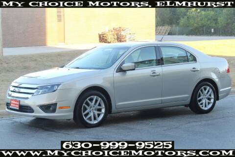 2010 Ford Fusion for sale at Your Choice Autos - My Choice Motors in Elmhurst IL