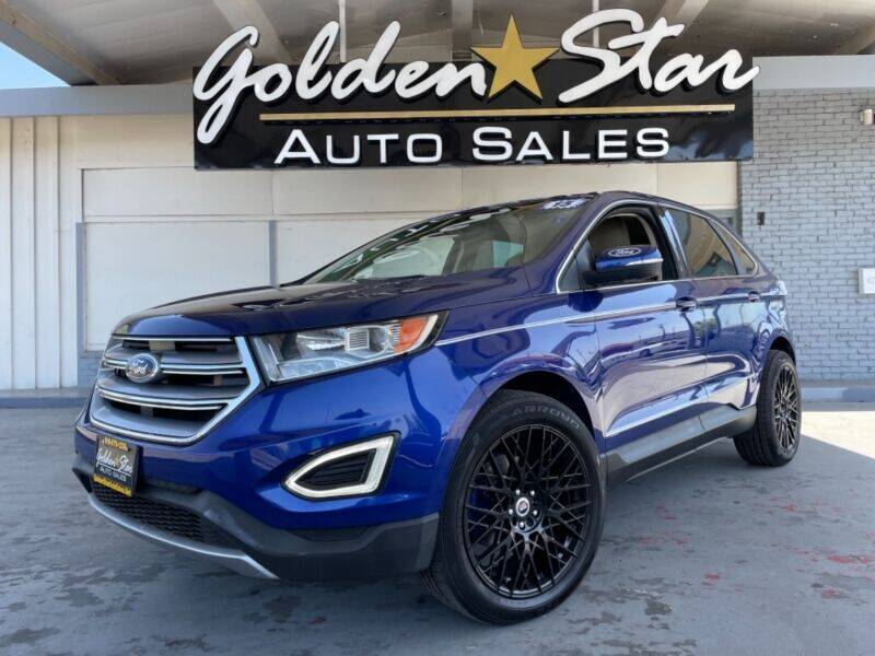 2015 Ford Edge for sale at Golden Star Auto Sales in Sacramento CA