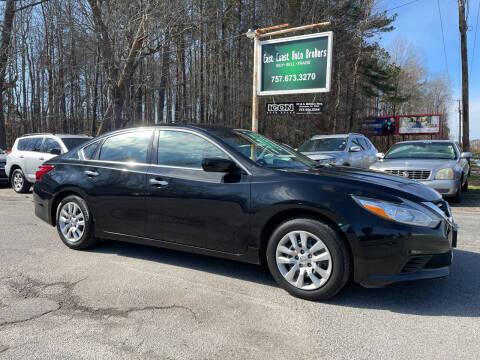 2016 Nissan Altima for sale at East Coast Auto Brokers in Chesapeake VA