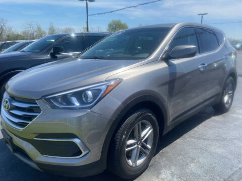 2018 Hyundai Santa Fe Sport for sale at EAGLE ONE AUTO SALES in Leesburg OH