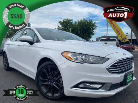 2018 Ford Fusion for sale at Street Smart Auto Brokers in Colorado Springs CO