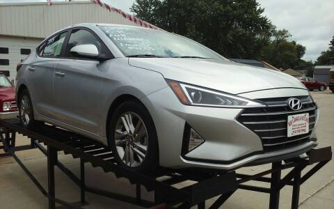 2019 Hyundai Elantra for sale at Bob's Garage Auto Sales and Towing in Storm Lake IA