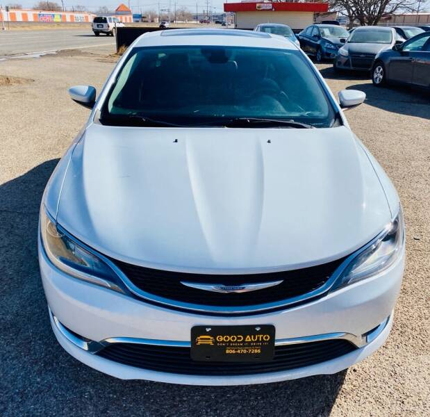 2015 Chrysler 200 for sale at Good Auto Company LLC in Lubbock TX