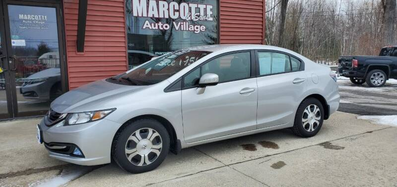 2013 Honda Civic for sale at Marcotte & Sons Auto Village in North Ferrisburgh VT
