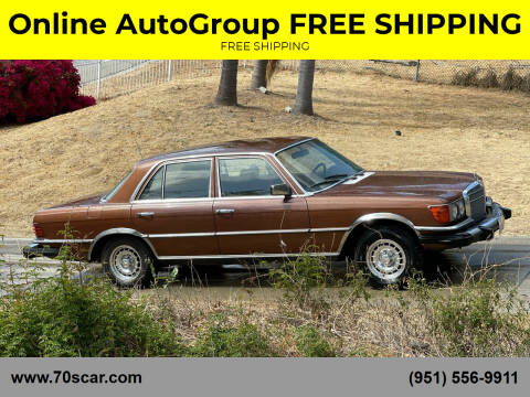 1979 Mercedes-Benz 300-Class for sale at Online AutoGroup FREE SHIPPING in Riverside CA