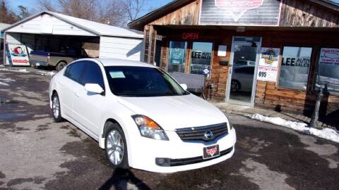 2007 Nissan Altima for sale at LEE AUTO SALES in McAlester OK