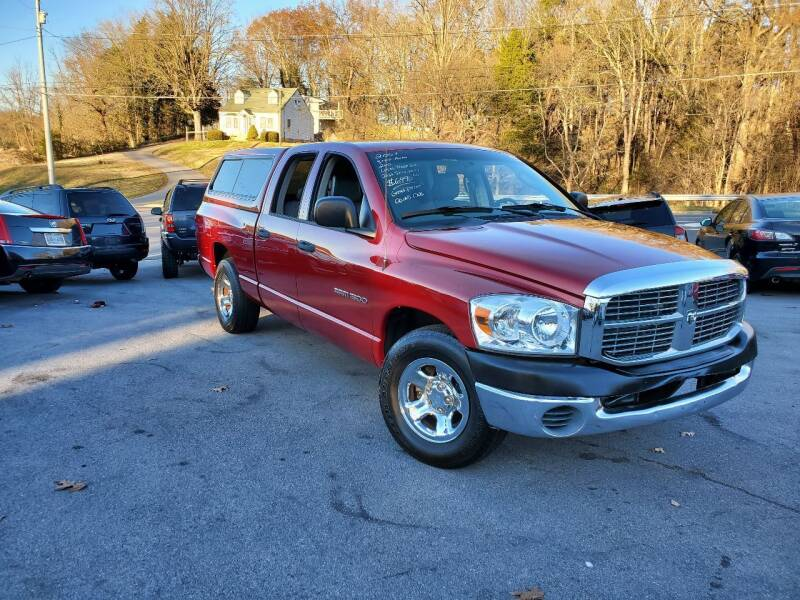 2007 Dodge Ram Pickup 1500 for sale at DISCOUNT AUTO SALES in Johnson City TN