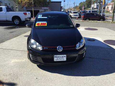 2011 Volkswagen GTI for sale at Steves Auto Sales in Little Ferry NJ