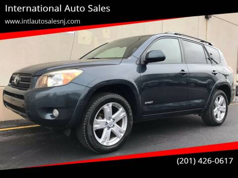 2008 Toyota RAV4 for sale at International Auto Sales in Hasbrouck Heights NJ