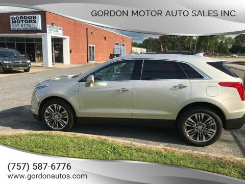 2017 Cadillac XT5 for sale at Gordon Motor Auto Sales Inc. in Norfolk VA