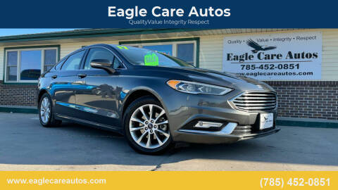 2017 Ford Fusion for sale at Eagle Care Autos in Mcpherson KS