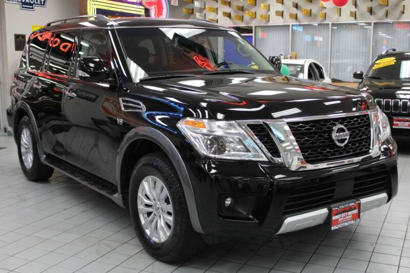2017 Nissan Armada for sale at Windy City Motors in Chicago IL