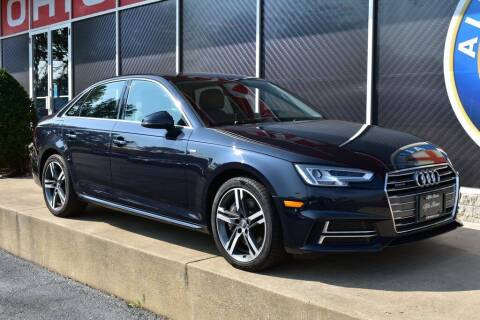 2018 Audi A4 for sale at Alfa Romeo & Fiat of Strongsville in Strongsville OH