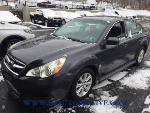 2010 Subaru Legacy for sale at J & M Automotive in Naugatuck CT