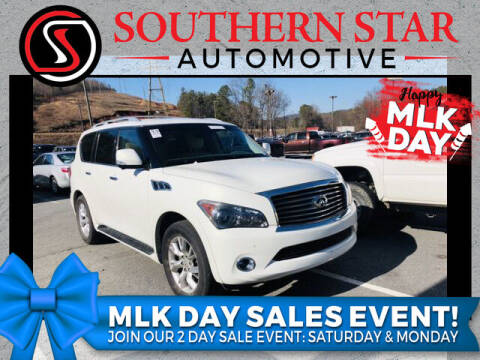 2012 Infiniti QX56 for sale at Southern Star Automotive, Inc. in Duluth GA
