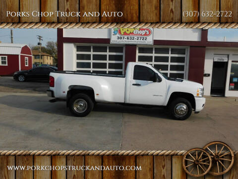 2013 Chevrolet Silverado 3500HD for sale at Porks Chop Truck and Auto in Cheyenne WY