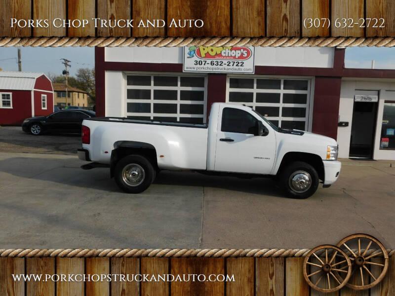2013 Chevrolet Silverado 3500HD for sale at Porks Chop Truck and Auto in Cheyenne WY