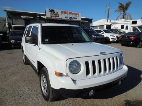 2015 Jeep Patriot for sale at DMC Motors of Florida in Orlando FL