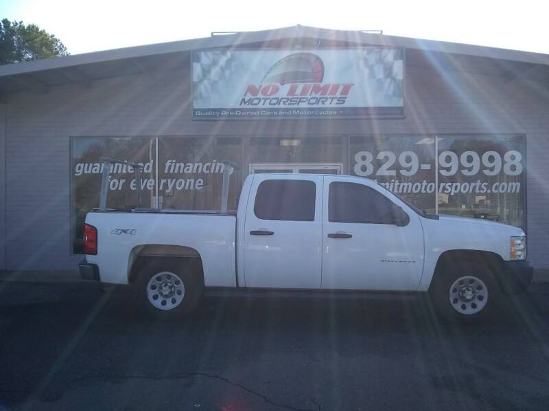 2013 Chevrolet Silverado 1500 for sale at NO LIMIT MOTORSPORTS in Belmont NC