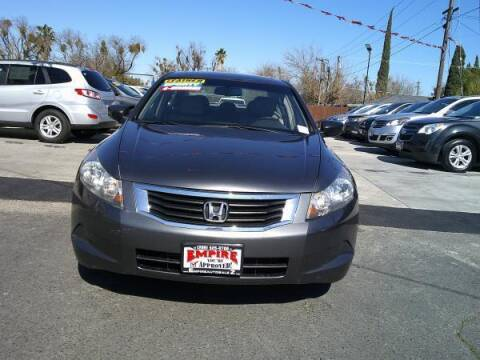2009 Honda Accord for sale at Empire Auto Sales in Modesto CA