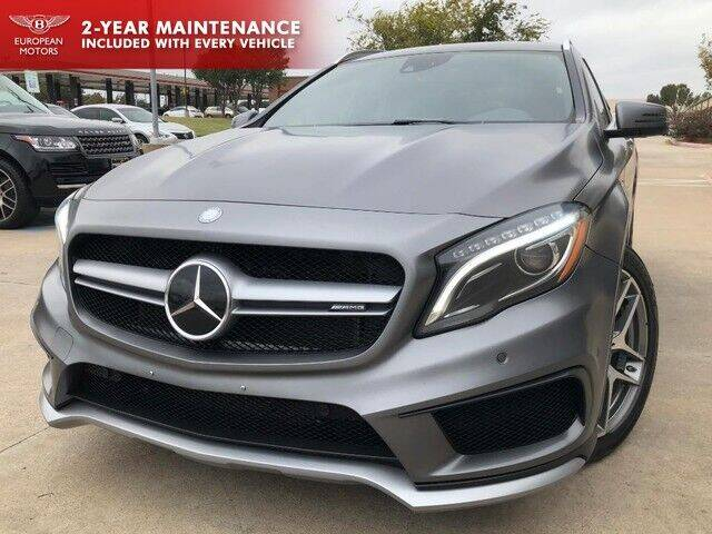 2015 Mercedes-Benz GLA for sale at European Motors Inc in Plano TX
