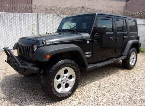 2011 Jeep Wrangler Unlimited for sale at Amazing Auto Center in Capitol Heights MD