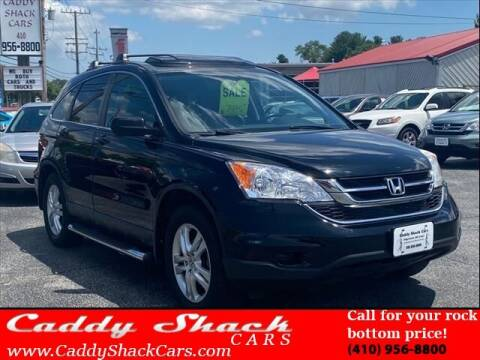 2010 Honda CR-V for sale at CADDY SHACK CARS in Edgewater MD