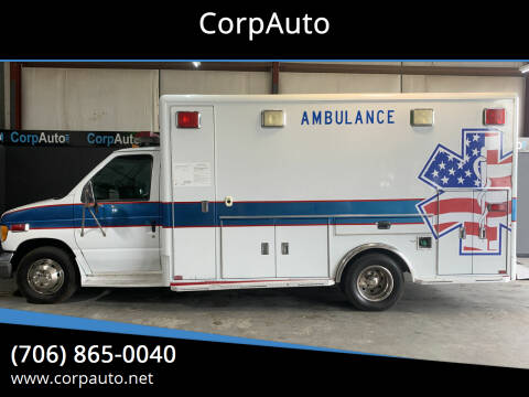 2002 Ford E-Series Chassis for sale at CorpAuto in Cleveland GA