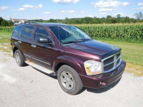 2005 Dodge Durango for sale at WESTERN RESERVE AUTO SALES in Beloit OH