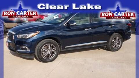2018 Infiniti QX60 for sale at Ron Carter  Clear Lake Used Cars in Houston TX