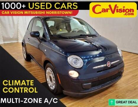 2015 FIAT 500 for sale at Car Vision Buying Center in Norristown PA