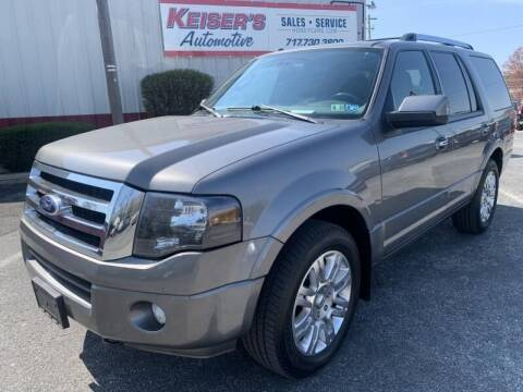 2013 Ford Expedition for sale at Keisers Automotive in Camp Hill PA