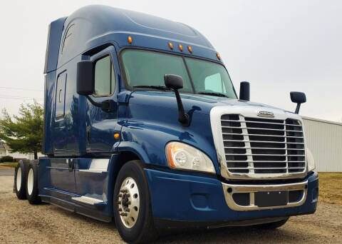 2017 Freightliner Cascadia Evolution for sale at A F SALES & SERVICE in Indianapolis IN