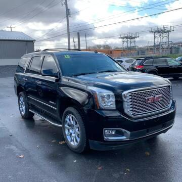 2015 GMC Yukon for sale at Great Lakes Classic Cars & Detail Shop in Hilton NY