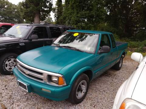 1995 Chevrolet S-10 for sale at James River Motorsports Inc. in Chester VA