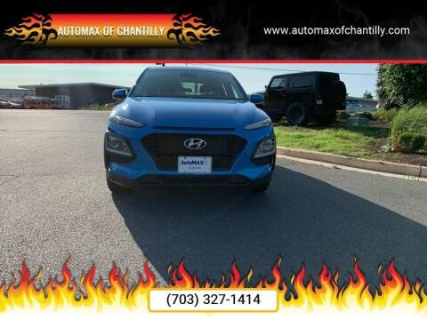 2019 Hyundai Kona for sale at Automax of Chantilly in Chantilly VA