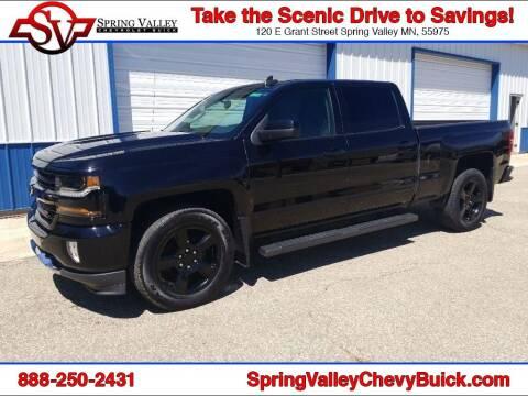 2017 Chevrolet Silverado 1500 for sale at Spring Valley Chevrolet Buick in Spring Valley MN