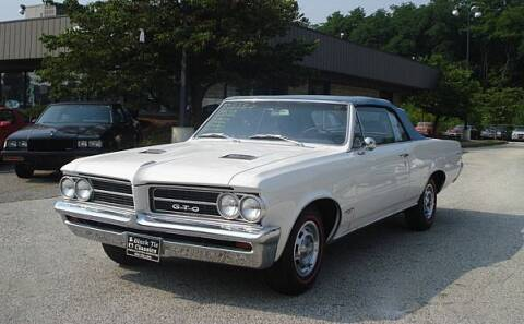 1964 Pontiac GTO for sale at Black Tie Classics in Stratford NJ