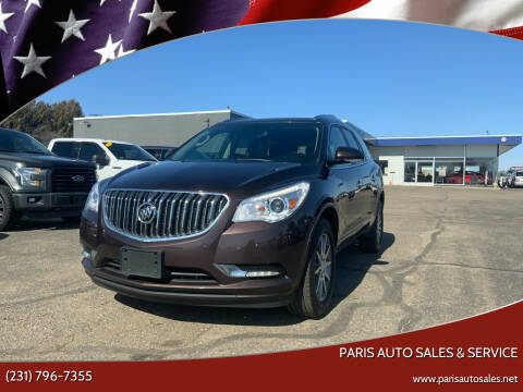 2015 Buick Enclave for sale at Paris Auto Sales & Service in Big Rapids MI