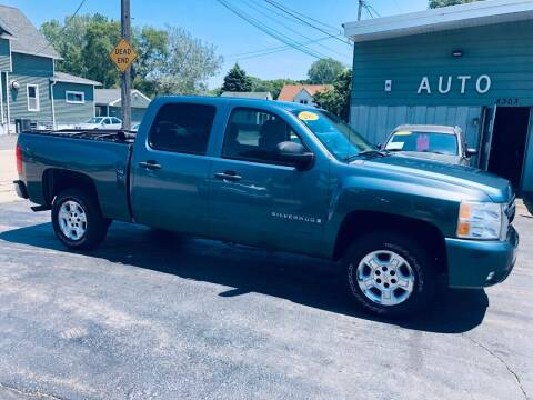 2007 Chevrolet Silverado 1500 for sale at SHEFFIELD MOTORS INC in Kenosha WI