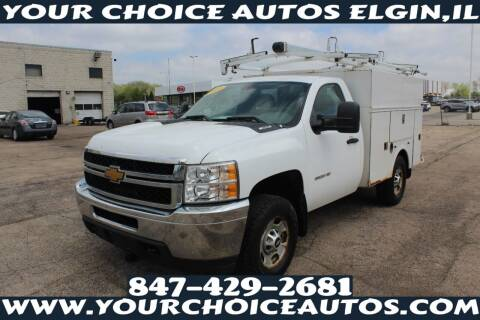 2013 Chevrolet Silverado 2500HD for sale at Your Choice Autos - Elgin in Elgin IL